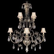fine art lamps 162740 a midsummer night s dream 8 light traditional crystal chandelier loading zoom