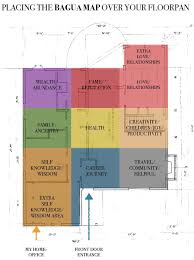 how do i align the bagua map over my floorplan and why would i do
