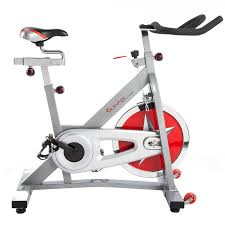 sunny health fitness pro cycling bike side view