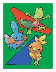 3rd Gen starter Pokemon by nickoswar on DeviantArt