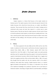 Example Of A Response Essay How To Write A Good Reader Response Essay Mistyhamel