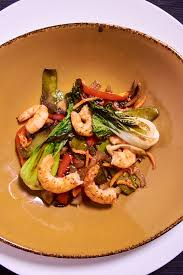 Sous Vide Ginger Shrimp Stir Fry Recipe