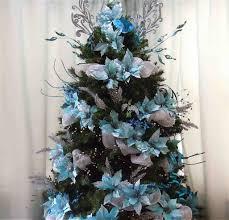Modern Theme Xmas White And Silver Christmas Tree Decorating Ideas