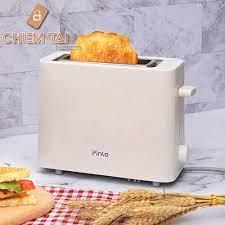 Mã 267ELSALE hoàn 7% đơn 300K] Máy nướng bánh mì đa năng mini Pinlo  PL-T050W1H - Lò vi sóng Thương hiệu No brand