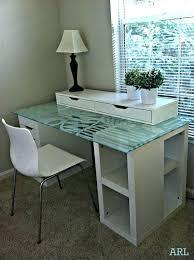 glass top desk glass desk top desk tops marvelous ideas about top on interior ideas glass