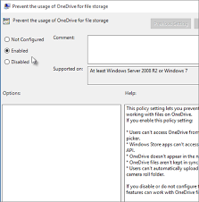 turn off or uninstall onedrive