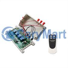4 Channel AC 100 240V 30A Wireless Remote Controller Control
