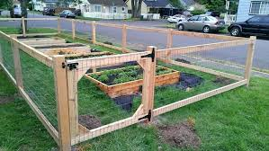 diy deer fence garden building a deer proof garden fence