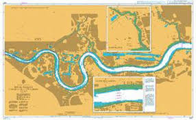 Admiralty Chart 3337 River Thames Margaret Ness To Tower Bridge