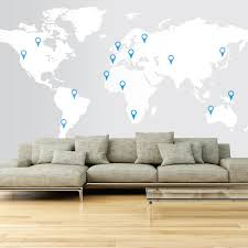 17 cool ideas for world map wall art live diy in large