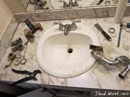 replacing a faucet how to fix a leaky bathroom sink faucet double handle how