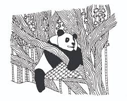 Free Panda Coloring Pages For Adults
