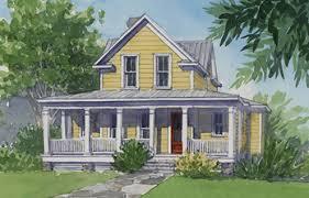 four gables house plan. Front Elevation Rendering Four Gables House Plan