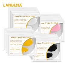 <b>LANBENA 24K Gold</b> collagen <b>eye</b> mask <b>Eye</b> patches dark circle ...