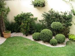 Small Picture Garden Design Ideas With Pebbles Short plants Patios and Plants