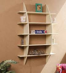 Decorative wall shelving Floating Shelf Crisscross Decorative Wall Shelf In Cream Finish By Dream Arts Pepperfry Buy Crisscross Decorative Wall Shelf In Cream Finish By Dream Arts
