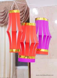 Diy Paper Lanterns Chinese Style Diy Paper Lanterns Make Perfect Party Decorations
