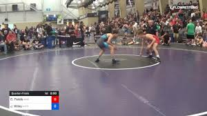 65 kg Quarterfinal - Derek Fields, Arsenal Wrestling vs John Wiley, Matrix  Grappling