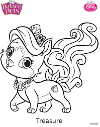 Small Picture Princess Palace Pets Treasure Coloring Page by SKGaleana on DeviantArt