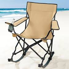 astonishing outdoor folding rocking chair for front porch decoration cool camping rocking chair and black