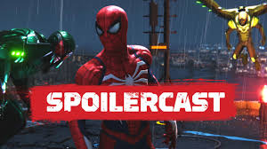 spider man ps4 spoilercast with bryan intihar a beyond special episode spider man ps4