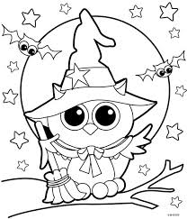 Cute cartoon children in halloween costumes. Free Halloween Coloring Pages For Adults Kids Happiness Is Homemade