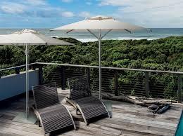powder coated aluminium garden umbrella marina by scolaro parasol