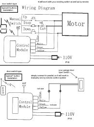 Wiring schematic for genie garage door opener