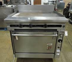 wolf gas range. Wolf FV361 Commercial Heavy Duty Griddle Top Gas Range With Standard Oven Base