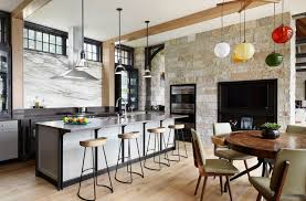 shake up your design by using two diffe lighting fixtures in the same room image morgante wilson architects collect this idea