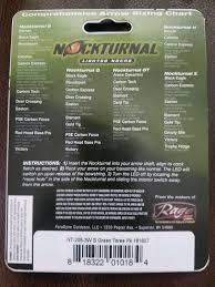 Nockturnal Fit Chart Nockturnal Gt Lighted Nocks Pack Of 3 Green
