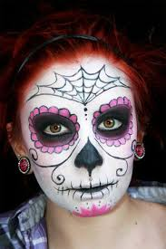 the breeze easy sugar skull makeup tutorial
