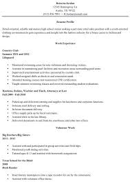 Resume Samples For High School Students Extraordinary Graduate Resume Examples Free Professional Resume Templates