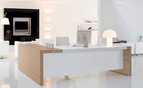 modern office desk white. white corner office desk computer home table with drawers ideas modern 0