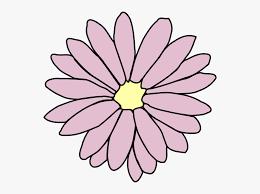 pink flower clipart flower chain