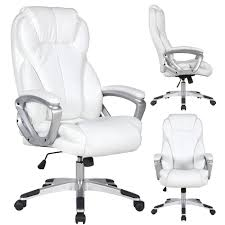 high back executive office chair. Simple Office White Leather Deluxe Professional Ergonomic High Back Executive Office Chair Inside