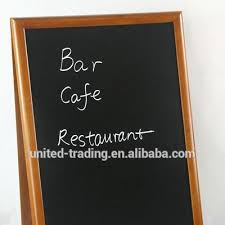 Chalkboard Menu Board High Quality Wooden Blackboard Chalk A Frame Wooden Chalkboard Menu Board Buy Blackboard Chalk Wooden Chalkboard A Frame Product On Alibaba Com