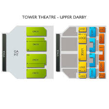 Tower Theater Seating Chart Seat Numbers Www