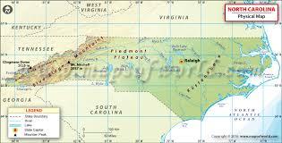 map of north carolina A Map Of North Carolina physical map of north carolina a map of north carolina cities