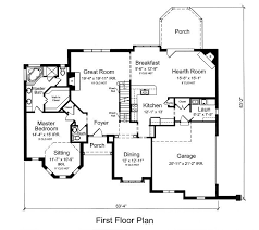 floor plans 2000 square feet 4 bedroom home deco plans