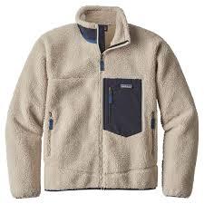 Patagonia Mens Classic Retro X Fleece Jacket Natural