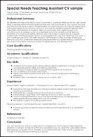 Teaching Assistant Resume Noxdefense Com