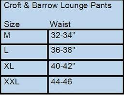 Croft Barrow Camouflage Pajama Bottoms Lounge Pants