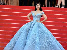 aishwarya rai wearing a michael cinco gown at the 70th cannes film festival 2017