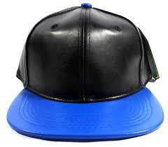 whole leather hats snapbacks black1 jpg