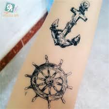 Malé čerstvé Vodotěsné Tělo Umění Móda Dočasné Tetování Samolepky Pro ženy Muži