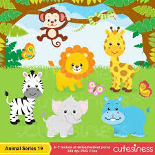 zoo animals together clipart. Delighful Clipart Jungle Clip Art Digital PapersJungle ClipartJungle Animals  ArtAnimal ArtScrapbookingAnimals SafariZoo Clipart To Zoo Together G