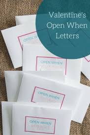 21 Open When Letter Ideas Finding Mandee