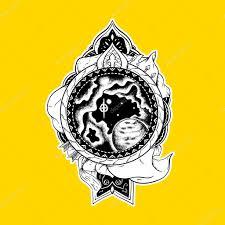 этнические тату этническая татуировка печати для футболки лук и