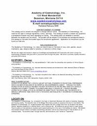 Cosmetology Resume Examples Beginners Cosmetology Resume Horsh
